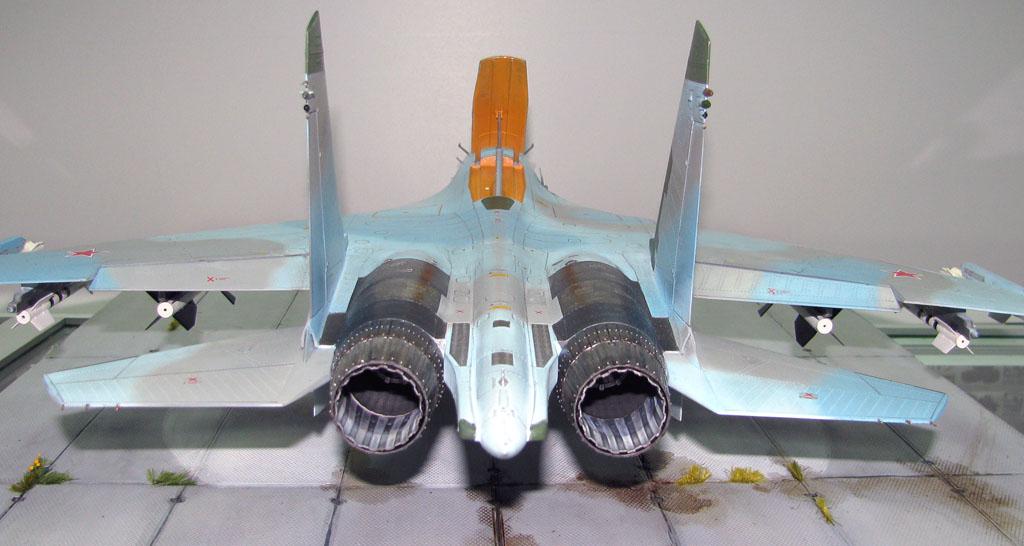 1:32 Су-27. Trumpeter 02224 (Построен)